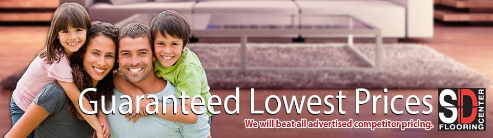 Guaranteed Lowest Prices Banner