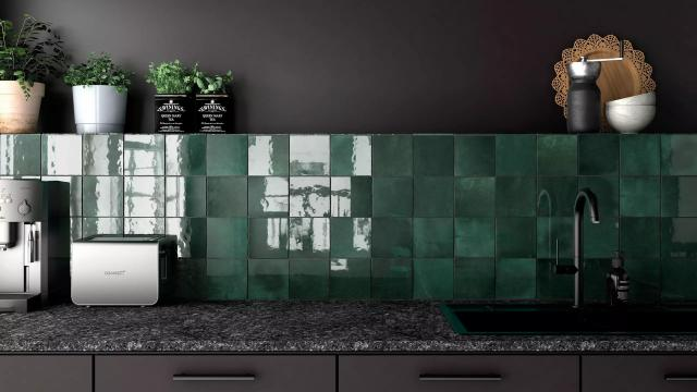 Cloe Wall Tile in Green