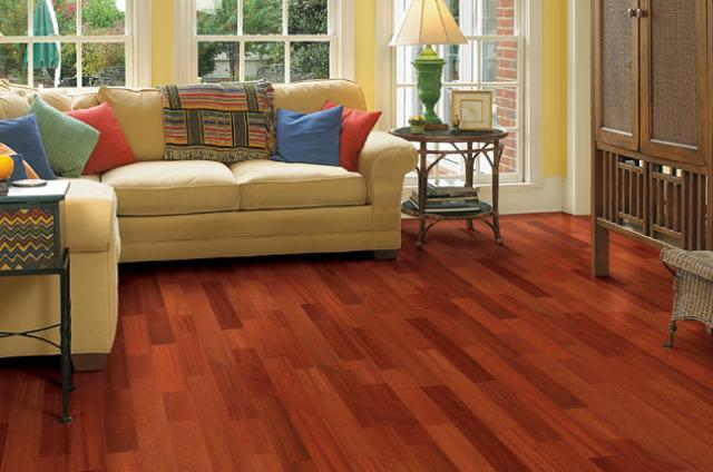 Ark Floors: Brazilian Cherry Stain