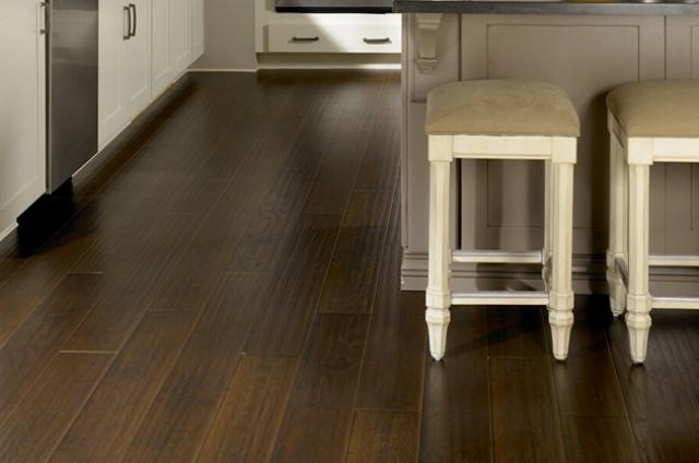 Ark Floors: Hickory Espresso Illusions