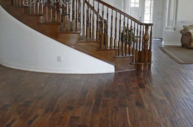 Max Windsor Floors: American Walnut Handscraped