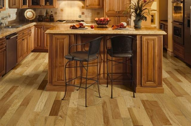 Max Windsor Floors: Hickory Dist & Smooth