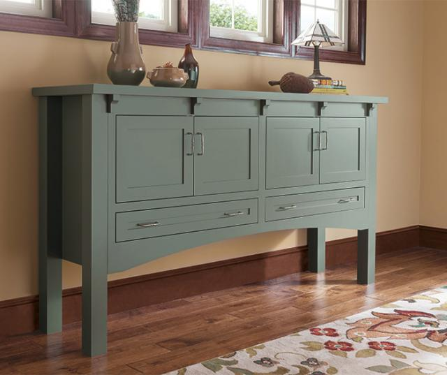 Craftsman Style Console Cabinet