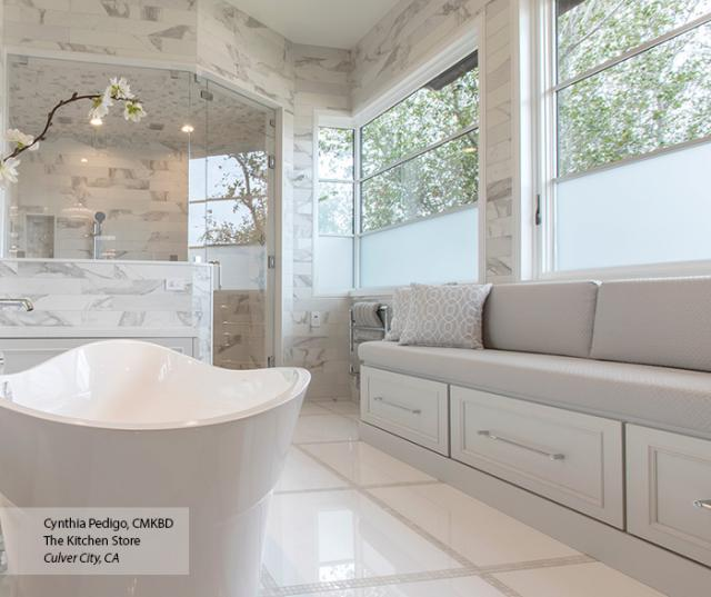 Transitional Maple White And Gray Bathroom Cabinets