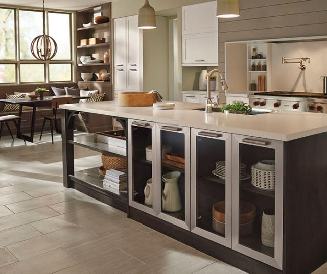 Casual Open Kitchen Design