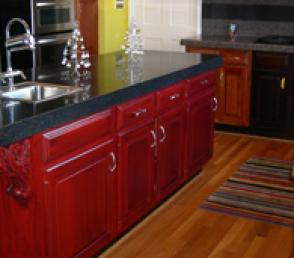 Refinished Cabinets