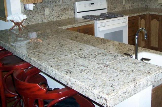 Tile Countertop Style 4