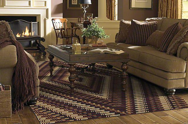 Shaw Area Rug: Weaver's Blanket